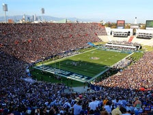 Los Angeles Rams game at the Coliseum
