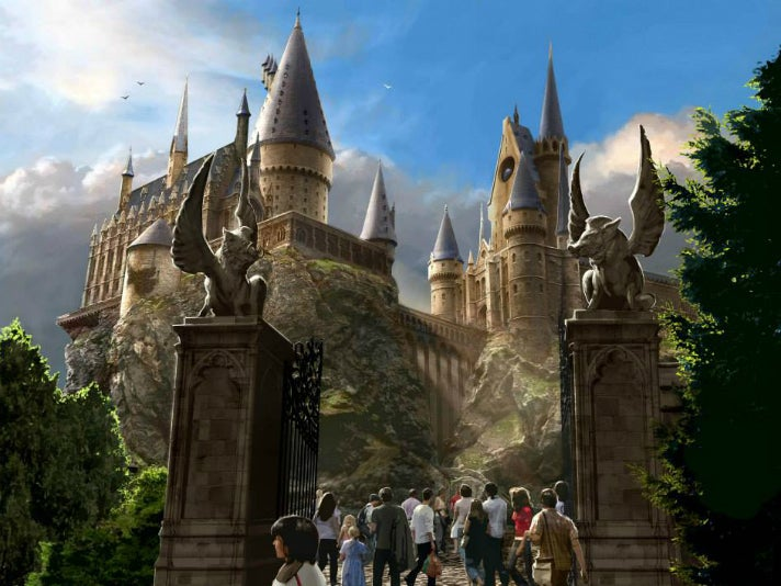 """""""Harry Potter and the Forbidden Journey"""" at Universal Studios Hollywood"""