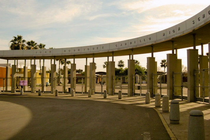"""Juan Rodriguez Cabrillo High School from """"The Fast and the Furious: Tokyo Drift"""""""